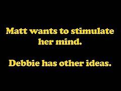 Деби Уайт - красотка блондинка создана для чувственной любви
