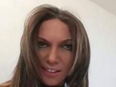 Сексапильная Анна Нова проведет с тобой урок сочного анального секса
