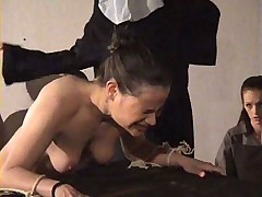 смотреть порно бесплатно групповое наказание монашки