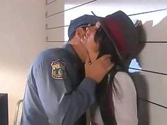 В полицейском участке