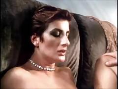Ретро порнушка с красивой женщиной