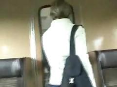 Чешка в поезде с парнем