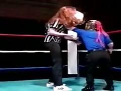 Карликовый трах на ринге
