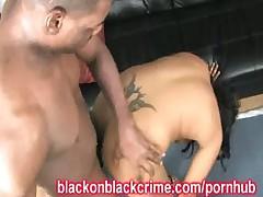 Черное на черном Грубый Секс