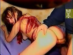 Московские любительницы устроили секс вчетвером на дому