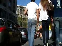 Попки на улице