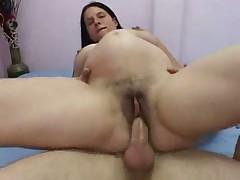 Беременная детка любит трахаться
