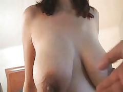 Секс с большими сиськами беременной