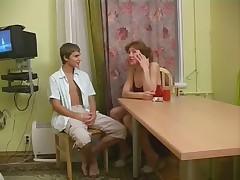 Русская мамочка ебется