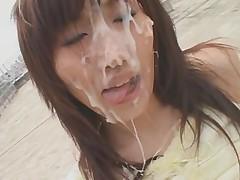 Pervoe bukkakje s Minoj Najuka chast' 2