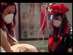 Лесбиянка медсестра Энема