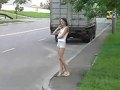 Russkaja prostitutka vyebana policejskim