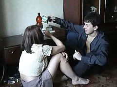 Russkij seks na krovati
