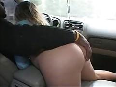 Порно во машине