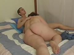 секс с пожылой дамой видео