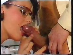 Medsestra drochit v vintazhnom video