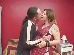 Беременная развратная сучка