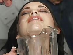 Букаккэ видео в котором реально много спермы