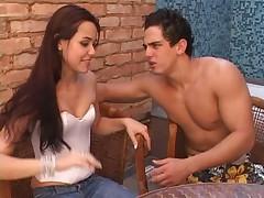 Анальный секс с красивой бразильянкой