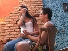Anal'nyj seks s krasivoj brazil'jankoj