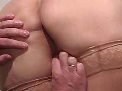 Старушка сдерживает обещание в сексе