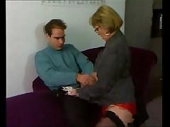 Starushka Anna Berger v retro porno