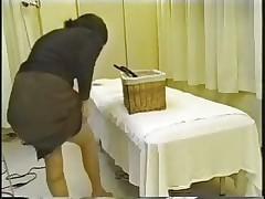 Азиатский массаж - съемка скрытой камерой