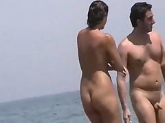 Телочки на пляже