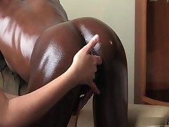 Межрасовый лесбийский секс