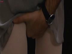 Брюнетка Натали в эротической сцене