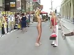 Экстримальная блондинка