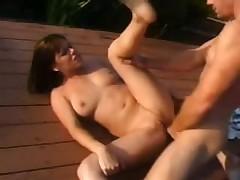Ебля у бассейна