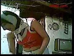 Арабская девочка в хиджабе трахается с любовником