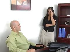 Оттрахал секкретаршу в офисе