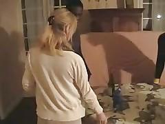 Французская жена выебана группой негров