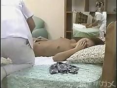Скрытая камера на массаже. Азия