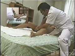 Skrytaja kamera na massazhe. Azija