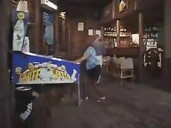 Бабушка в баре