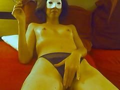 Зрелая французская любительница секса