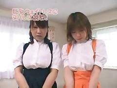 Японский массаж и сиськи