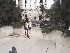 Ljubitel'skij francuzskij seks na publike