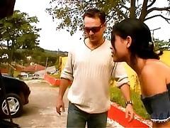 Milaja brazil'skaja devushka dala v popku