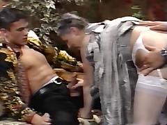 Старухи в винтажном порно