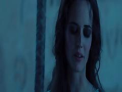 Krasotka Eva Grin v jeroticheskom shou