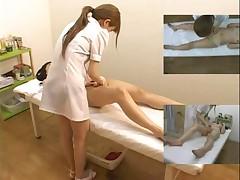 Подглядывание за японским массажем