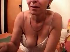 Бабушка - секс перед камерой