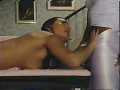 Louren Holl retro massazh i hardkor