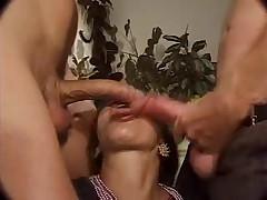 Seks vecherinka s babulej