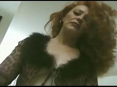 Mjedison - ryzhaja zrelaja dama za 50