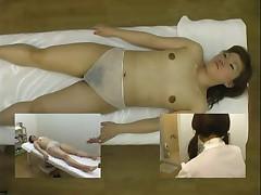 Podgljadyvanie za massazhem japonochek